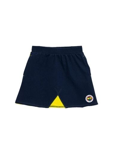 Fenerbahçe Fb Logolu  Etek Lacivert